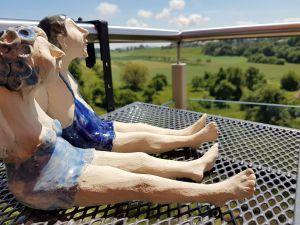 Süsses Nichtstun auf dem Balkon :-)