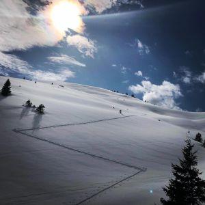 Lichterspiel und Stille, Swiss Alps