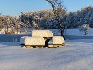 Diessenhofen, wie toll. Wieder mal richtig Winter.