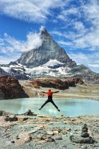 Freiheit am Fusse des Matterhorns
