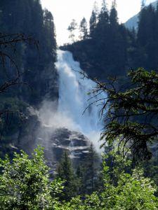 Ich wanderte mit meiner Frau bei super Wetter den Krimmler Wasserfall entlang