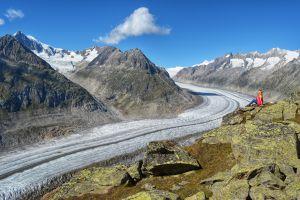 Freiheit pur am Aletschgletscher